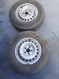 Rodas de Amarok aro 16 com pneus