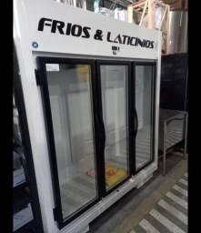 Geladeira de frios e laticínios 3 portas PRONTA ENTREGA