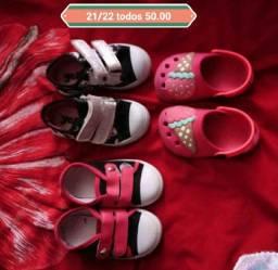 Calçados infantil de menina