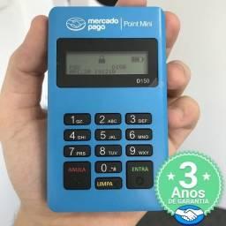 [D150] Máquina Oficial de Cartão Mercado Pago - Crédito e Débito