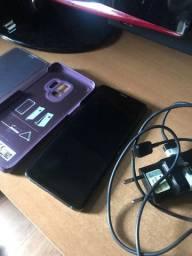 Samsung S9 128gb em perfeito estado com carregador e capa originais !!!