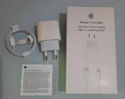 Carregador completo iPhone 11pro Max 18w