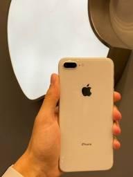 iPhone, 8 Plus, 64gb, Branco (SEMI-NOVO)