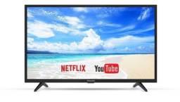 Smart TV 40 Panasonic Lacrada (Aceito Cartão)