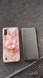 Vende-se ou troca celular da marca (Samsung galaxy A01)