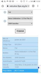 Siena fire flex 1.0 2007/2008 vendo ou troco por moto