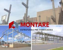 Pré-Moldados / Pré-Fabricados / Galpões / Barracão