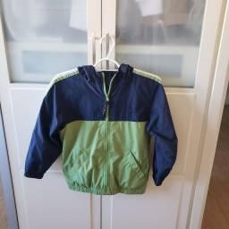 Jaqueta infantil de nylon duplo L. L. Bean tamanho 7-8