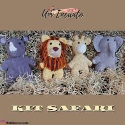 Kit Safari - Amigurumi