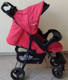 Carrinho de bebê + Bebê conforto (Kiddo Omega) + Andador