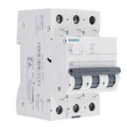 Disjuntor Trifasico 5SL13 MCB C10 400v Siemens