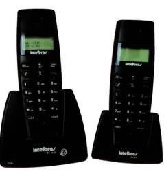 Telefone Sem Fio Intelbras Ts 40 Id Preto + Ts 40 R