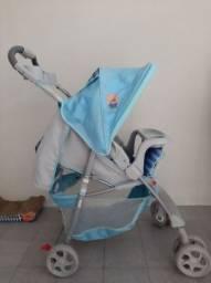 Carrinho de bebê Fit Azul Puppy - Voyage (Campina Grande)