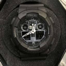 Relógio G-shock GA-100-BLACK