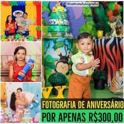 Título do anúncio: Fotografia de Aniversário e Eventos