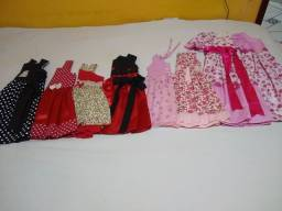 Lote Vestidos infantil novo