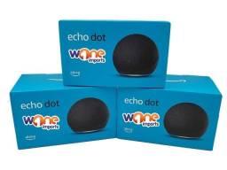 Caixa de Som Alexa Echo dot 4 Casa Inteligente