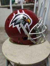 Shoptime<br>Shoulder Pad Ombreira De Futebol Americano Xenith Velocity e Helmet