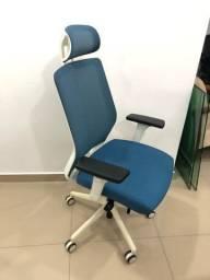 Cadeira de escritório super nova c encosto