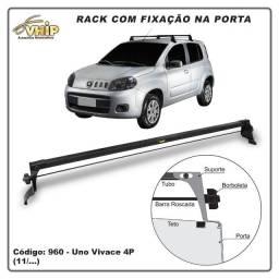 Rack com Fixação na Porta para Carro Tipo Fiat Uno