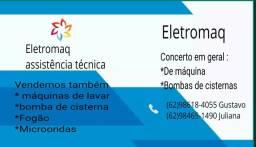 Eletromaq assistência em máquinas de lavar