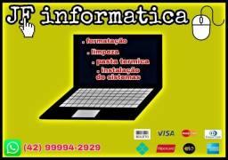 Formatação PCs e Notebooks