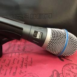 Microfone condensador Shure Beta 87A ORIGINAL !