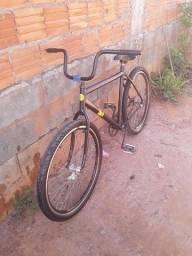 Bicicleta freio de pé!! Ler a descrição