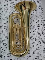 Tuba  Sinfonica Weril J981 Nova C/ Capa-Troco-Parcelo 12x
