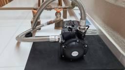 Pressurizador Komeco TQC 400 G2 Bivolt c/Tubos Flexíveis em Inox 80cm