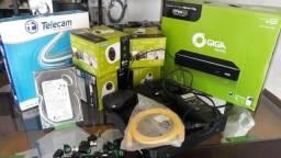Kit 4 câmeras aparte de $1399 instalado