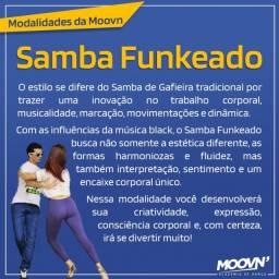 Aulas de Samba Funkeado