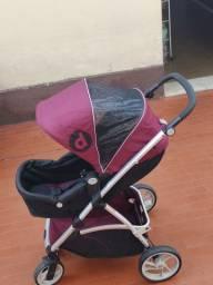 Carrinho e Bebê conforto Dzieco