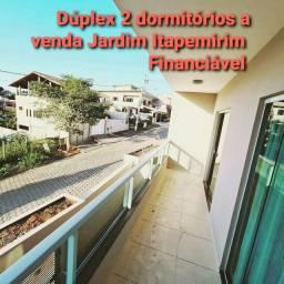 Duplex 2 dorm. 1 suite, 1 vaga  Jd. Itapemirim