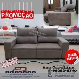 Sofa Retratil, E reclinavel em D-33 ( Outras cores)