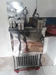 Maquinário de picolé
