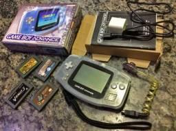 Game Boy Clássico Com Fonte de Alimentação USB
