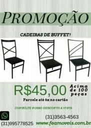 Vendo Cadeiras para festas e buffet R$45,00 a vista