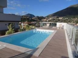 Loft com 1 dormitório para alugar, 27 m² por r$ 1.350,00/mês - alto - teresópolis/rj