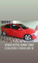 Astra sunny 2.0 legalizado aceito moto 650 - 2002