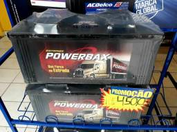 Bateria powerbax 150ah com garantia de 1 ano