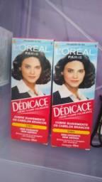 Tinta para cabelo DÉDICACE Cor preta sem amônia e sem oxidante
