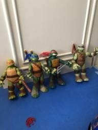 Bonecos tartaruga ninja