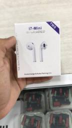 Fone de ouvido Bluetooth i7 mini