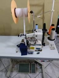 Máquina Overloque 2 Funções Fechamento e Elástico