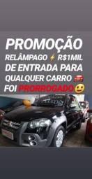 Fiat/STRADA ADVENTURE CE 2010(R$1MIL DE ENTRADA)SÓ NA SHOWROOM AUTOMÓVEIS