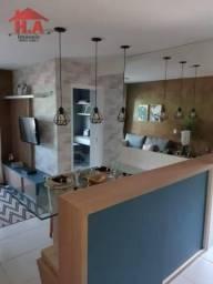Apartamento com 2 dormitórios à venda, 55 m² por R$ 184.000,00 - Lagoa Redonda - Fortaleza