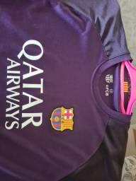 Camisa Futebol Barcelona Original Crianca
