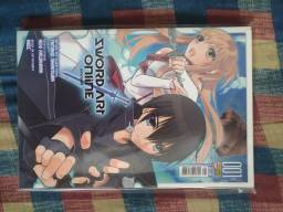 Sword art online mangás arcos aincrad + fairy dance (completos)