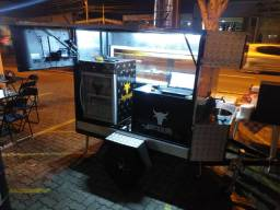 food truck (carreta para espetinho)
